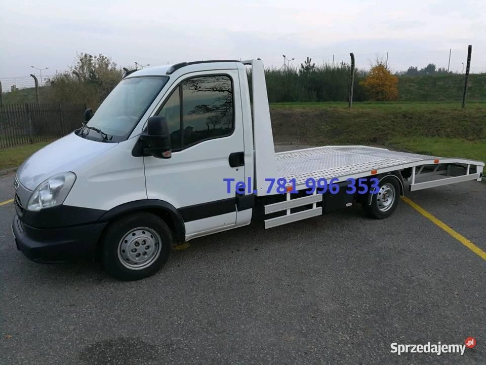 Iveco Daily pomoc drogowa auto laweta autolaweta holownik