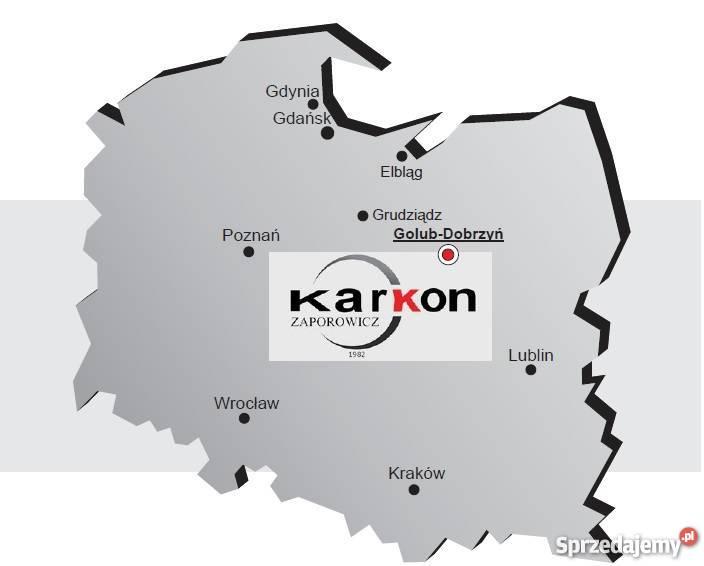 Stół wibracyjny 25 x 08 x 070 m KARKON Golub-Dobrzyń