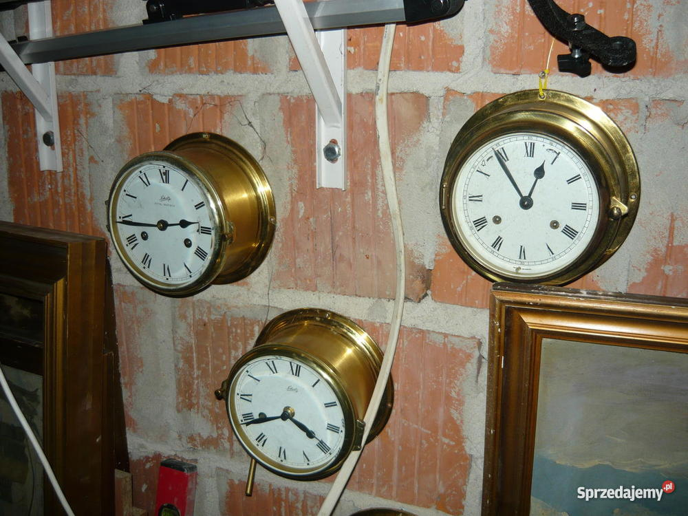 Stare Zegary I Barometry Okrętowe