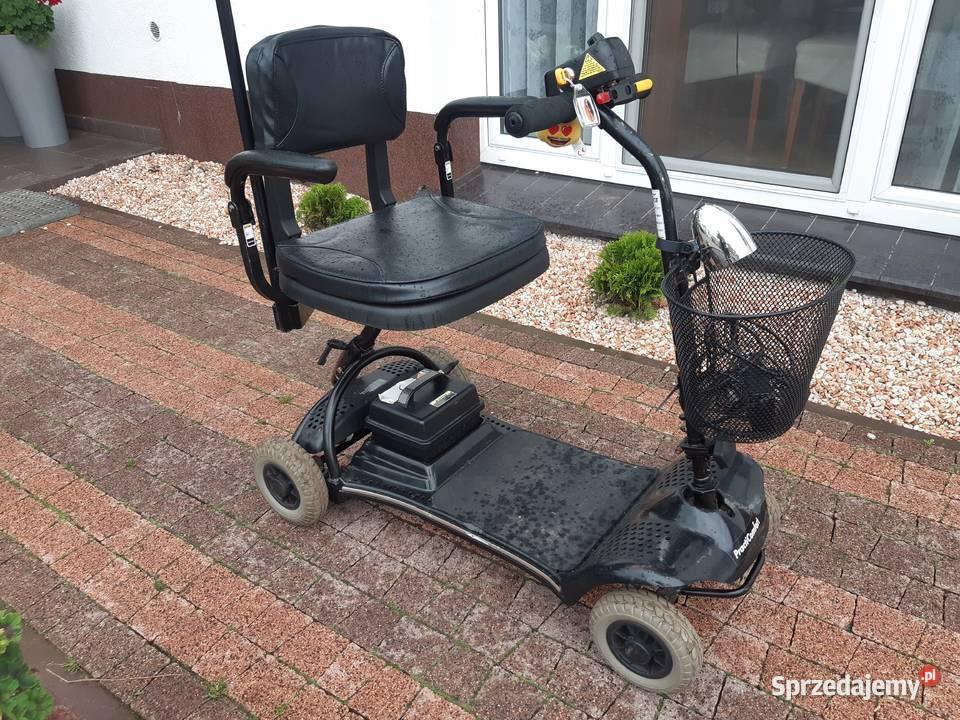 duży wózek elektryczny 100% sprawny 3 kołowy