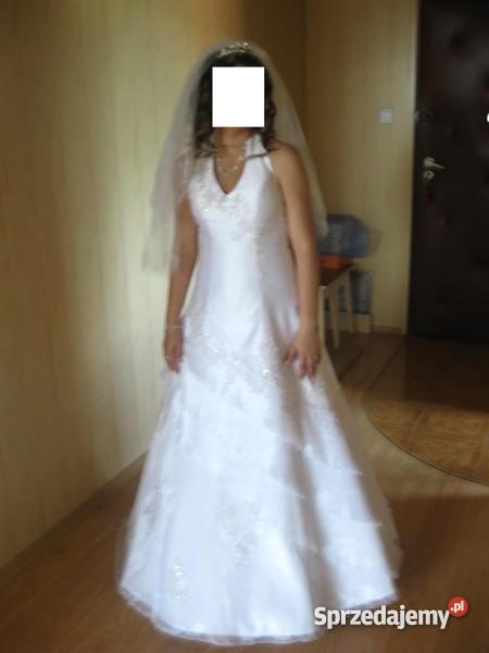 suknia ślubna welon podwiązka sprzedam