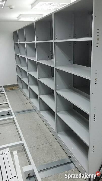 Regał Metalowy Do Garażu Magazynu Piwnicy Archiwum