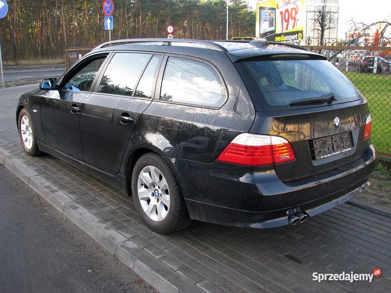 Nieuszkodzony BMW 525 E60 automatyczna skrzynia Włocławek
