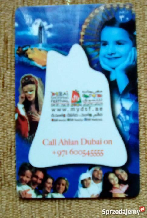 DUBAI SHOPPING FESTIVAL Pocztówki i karty telefoniczne lubelskie Piszczac