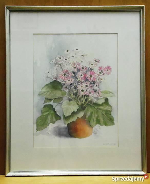 Obrazy Kwiaty W Ramach