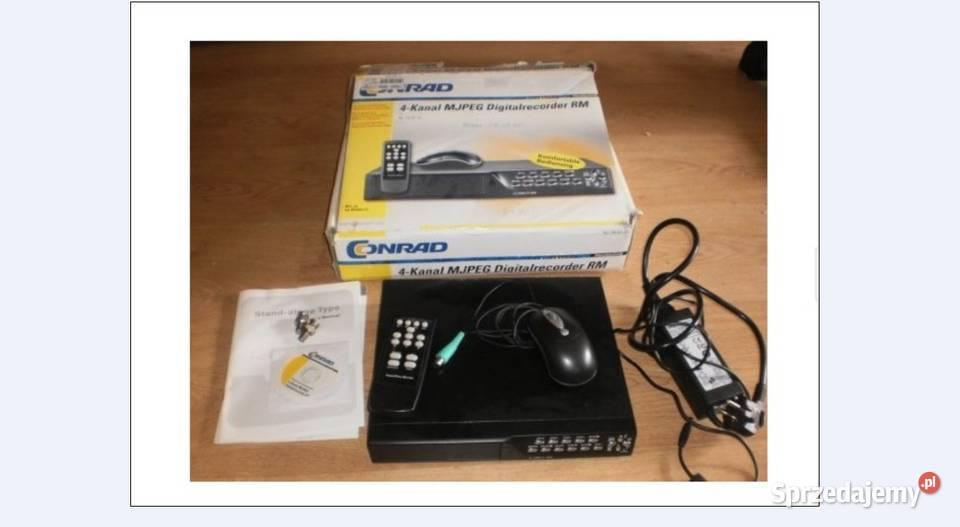 Rejestrator monitoringu na 4 kamery MJPEG 80gb