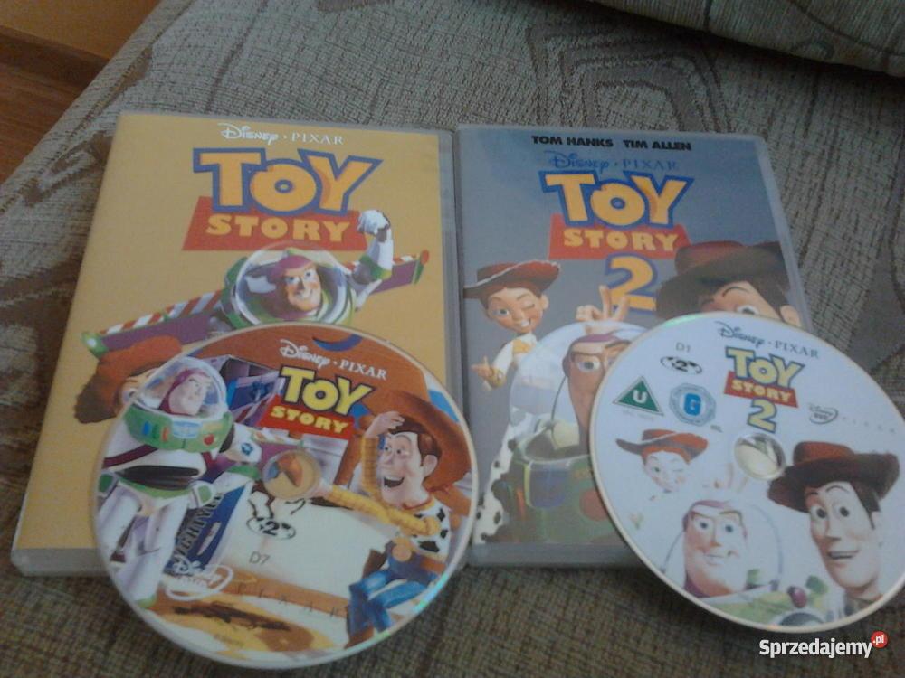 Bajka Toy Story 1 Toy Story 2 płyta DVD