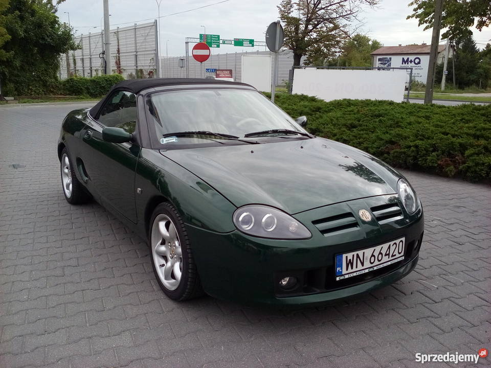 mg mgf cabrio 1 8 16v 120km stan idealny warszawa. Black Bedroom Furniture Sets. Home Design Ideas