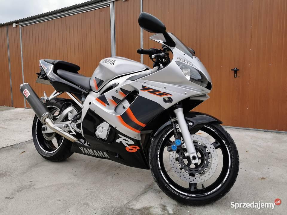 Yamaha R6 Piękna Bestia
