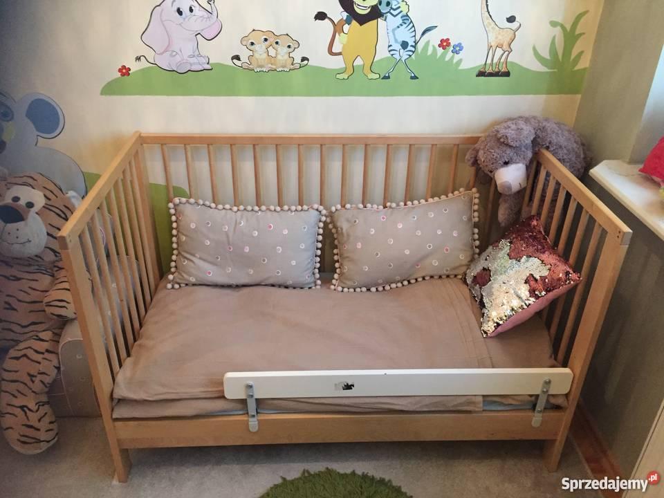 Sprzedam Używane łóżeczko Ikea Z Materacem Dla Dziecka 0 4