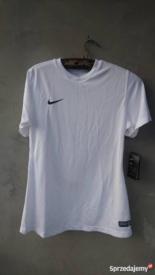 539d50586e37a8 nowa biała koszulka sportowa NIKE damska M nowa z metką Zembrzyce ...