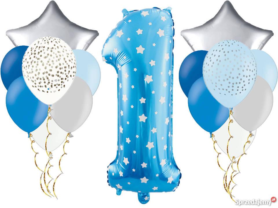 Zestaw Dekoracji Z Balonów Na Pierwsze Urodziny Roczek Adamowizna