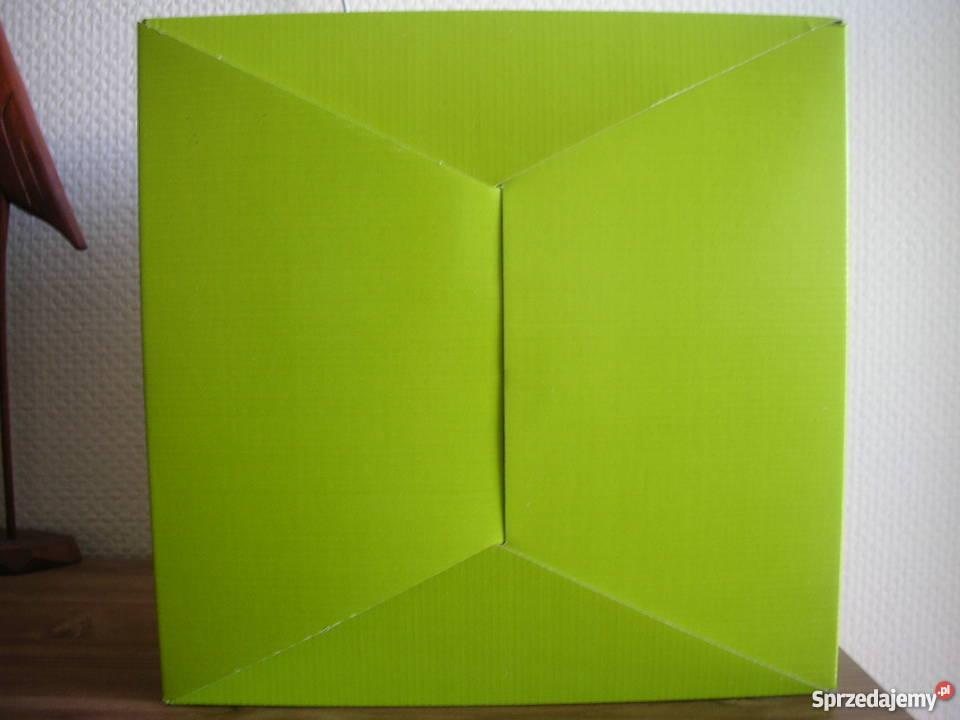 Kolorowe pudełko tekturowe z szufladkami mazowieckie