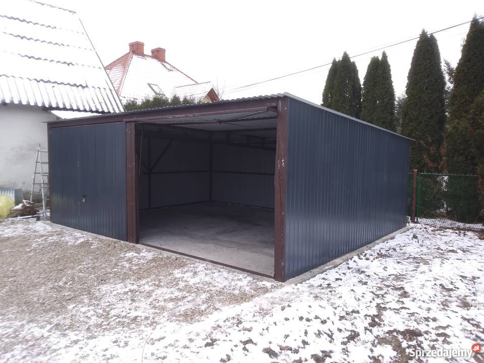 Garaż Z Wiatą I Pomieszczeniem Gospodarczym Sprzedajemypl
