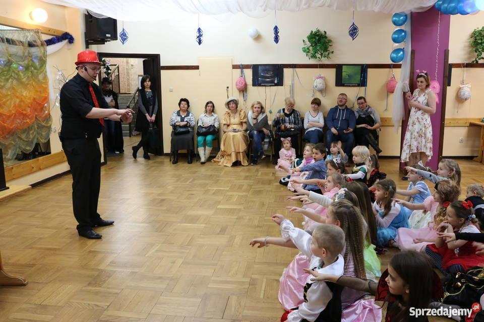 Iluzjonista dzieci na urodziny przedszkole Warszawa