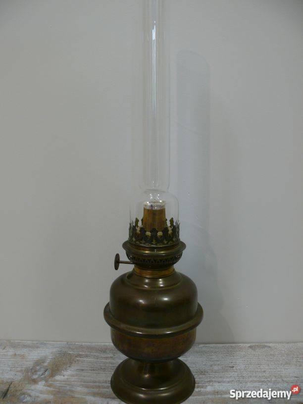 lampa naftowa mosiężna stylizowana mazowieckie Warszawa