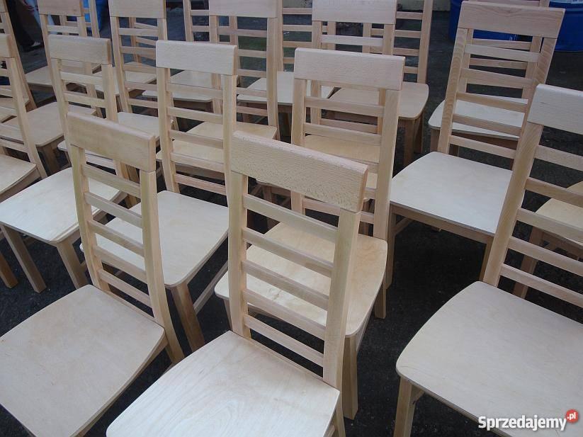 Różne Kolory I Modele Krzesła Drewniane Producent
