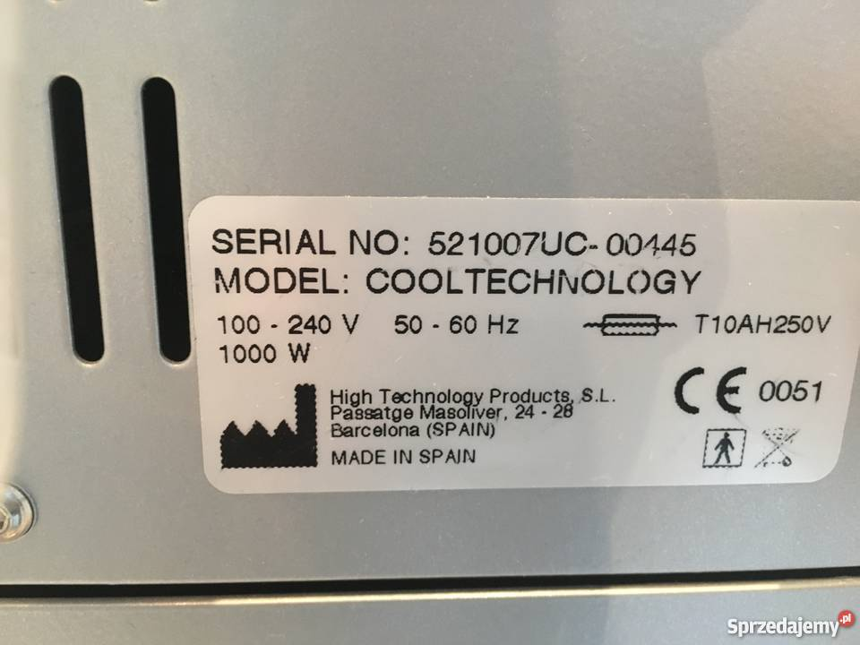 Sprzedam urządzenie CoolTech do kriolipolizy Poznań