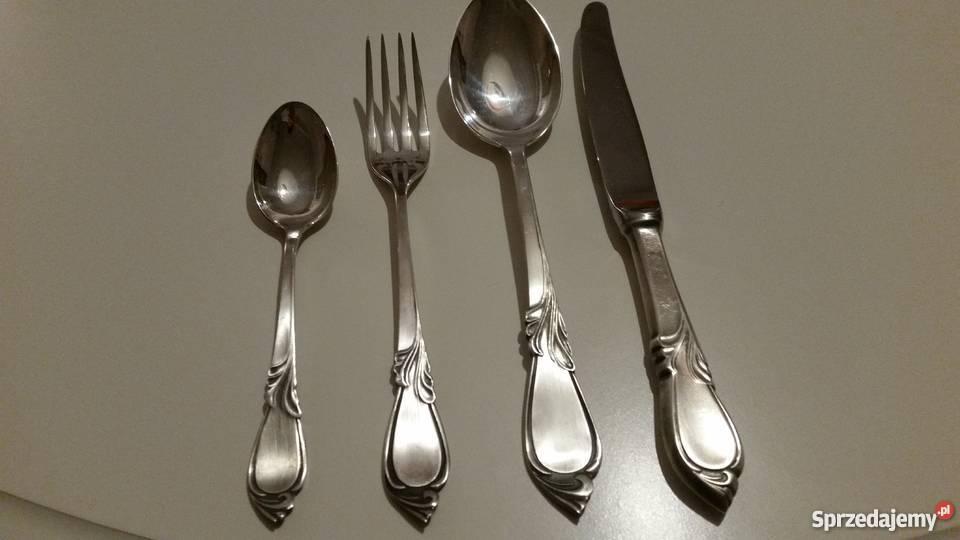 Sztućce Hefra srebro próby 800 Radom sprzedam