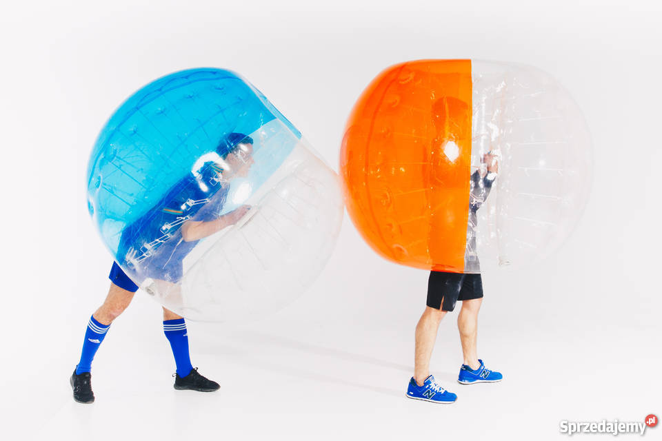 Dmuchane kule Bumper Ball do rozgrywek Bubble Wrocław