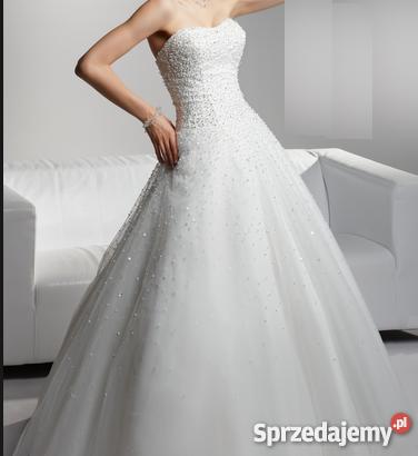 10e47e9955 Suknia ślubna Herms herms 36 Księżniczka Princes Rozmiar 36(S) dolnośląskie
