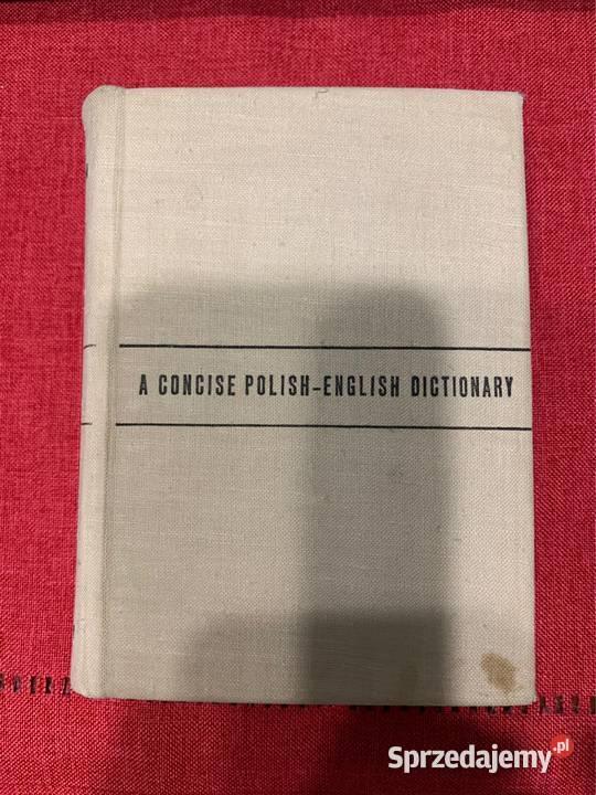 Mały słownik angielsko-polski Grzebieniowski