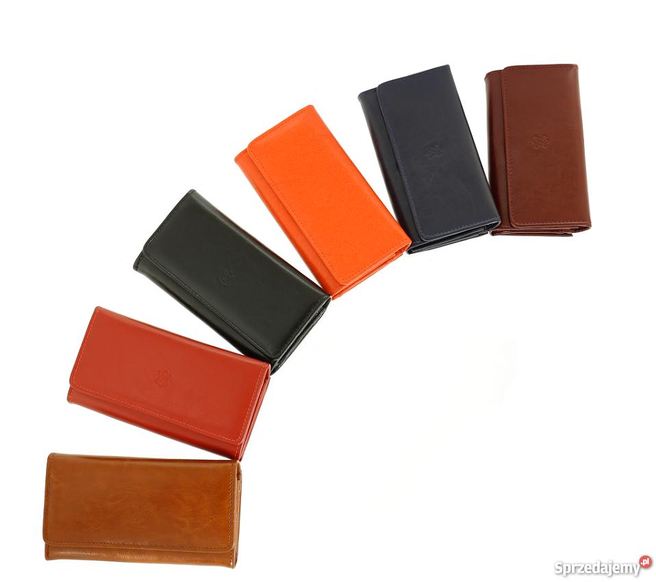 6ab7ff5681975 Skórzany portfel damski 6 kolorów skóra POLSKI PRODUCENT Siedlce ...