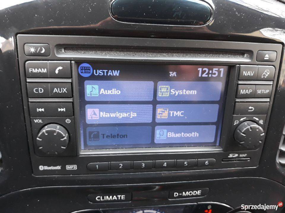 Nissan Qashqai,Juke,Micra Polskie menu-Pl Lektor-Mapa 2018r
