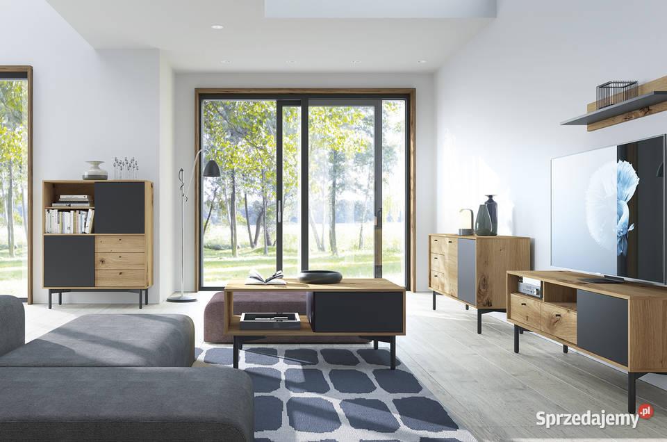Meblościanka  Flow 2, meble systemowe do salonu,pokoju.