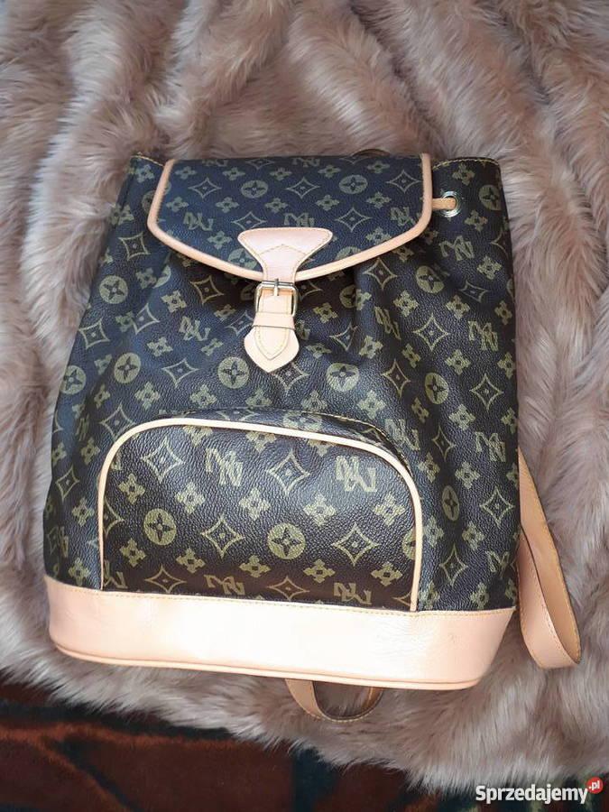 b72f684f57231 Plecak torebka Louis Vouitton Prada Chanel Kors LV Gucci Lublin ...