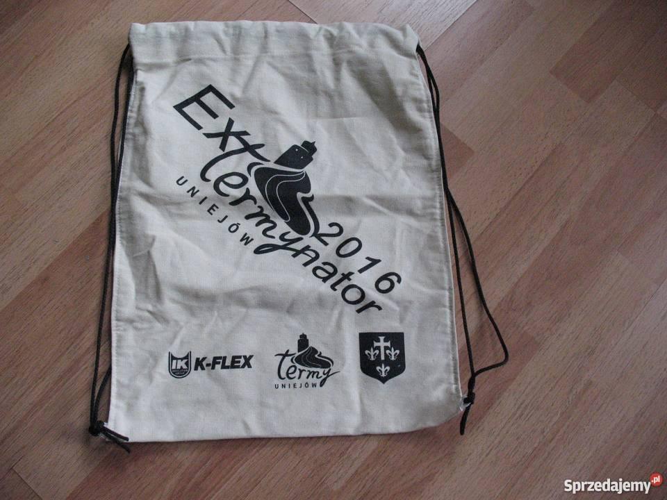 Worek plecak ExTermynator 2016 Uniejów Chorzów sprzedam