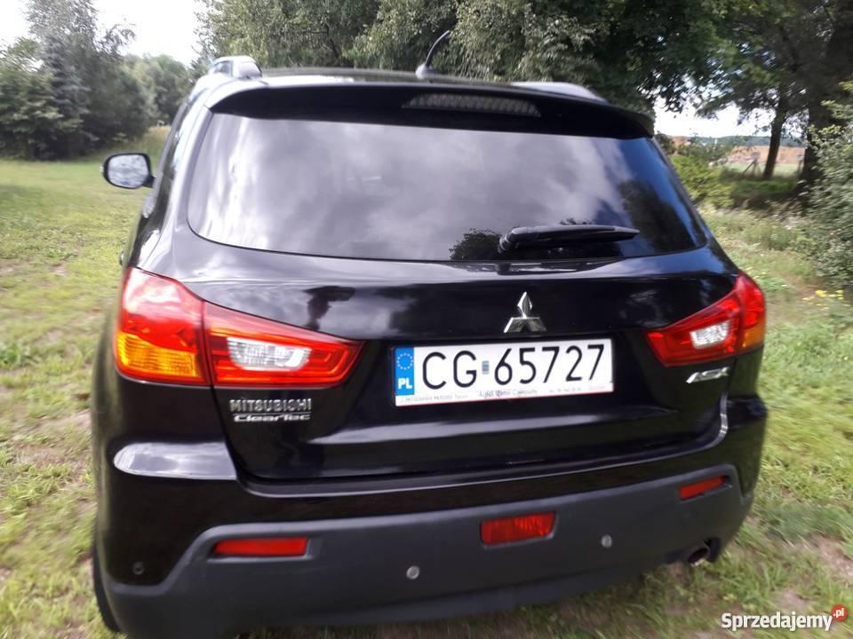 Eleganckie i bezpieczne Mitsubishi ASX ze Grudziądz