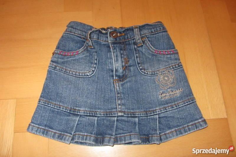 Levisspódnica jeans mini 9298104 z falbanką Sukienki i spódniczki Łódź