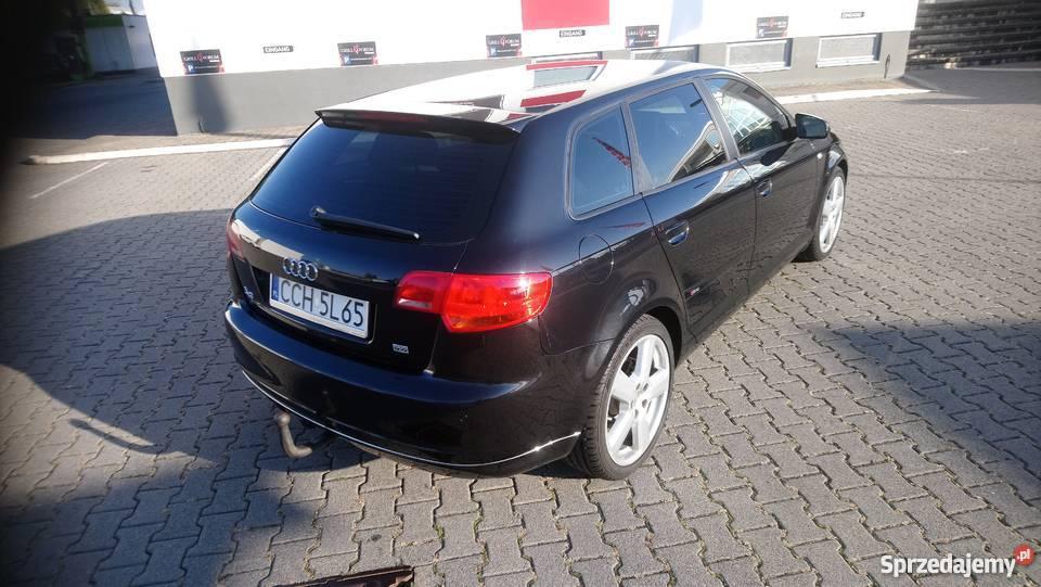 Audi a3 Sline Quattro Zarejestrowany w Polsce Chełmno