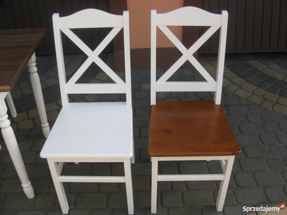 Krzesła Białe Prowansalskie Do Restauracji Drewniane