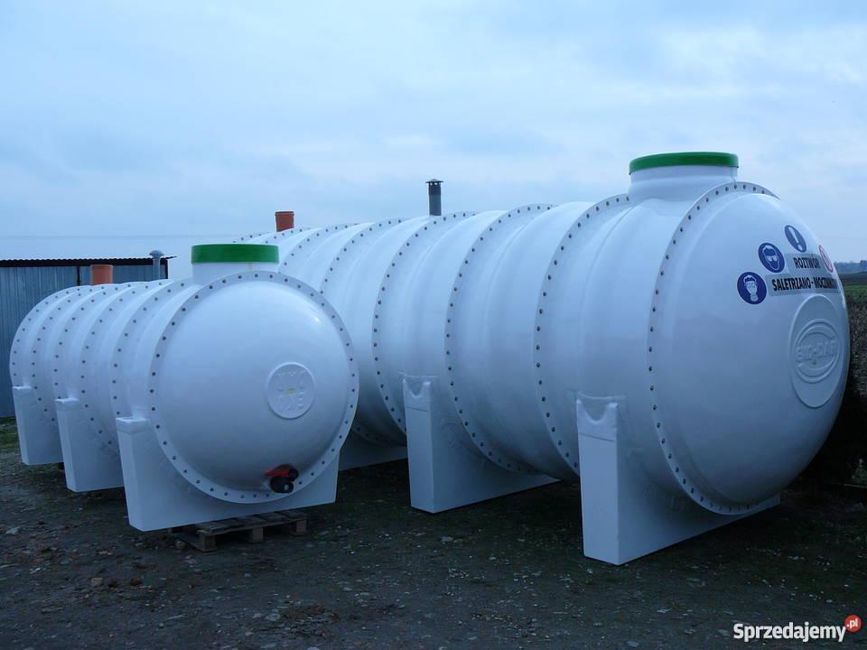 Zbiornik zbiorniki na RSM serwatkę solankę Żabinko