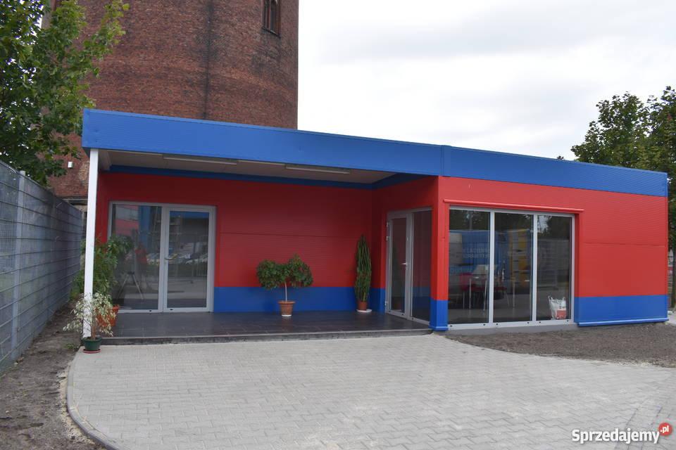 Pawilon Kontener Garaż Hala Płyta Warstwowa Gliwice