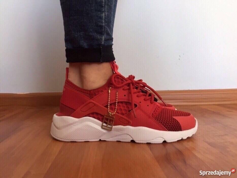finest selection 887ce e1e1b Czerwone Nike Huarache rozmiar 36 (23 cm) Wyprzedaż Warszawa ...