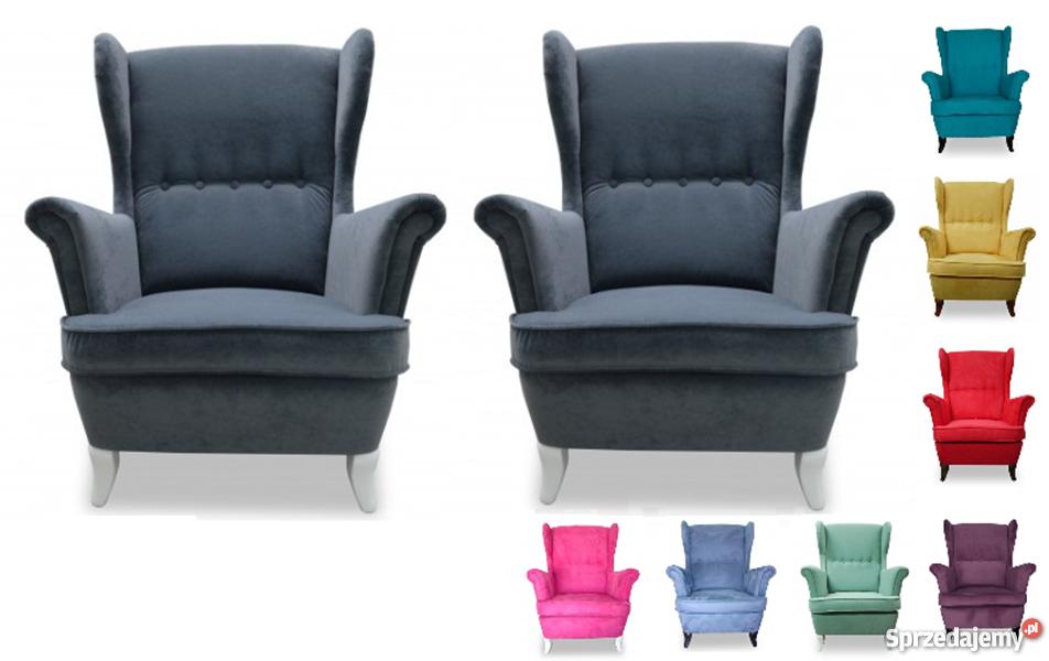 Fotele I Pufy Kraków Biurowe Wypoczynkowe Używane Na Sprzedaż