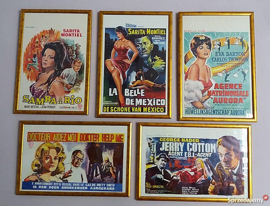 Plakaty Filmowe Lata 70 Te Oprawione Loft