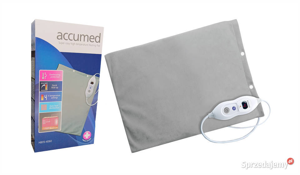 Poduszka grzejna / elektryczna ACCUMED 40/60 HB05-4060 Pń