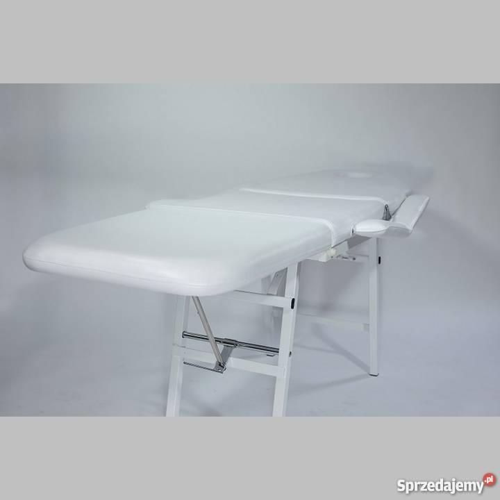 Fantastyczny Fotel kosmetyczny przenośny BASIC, łóżko kosmetyczne NOWE XH75