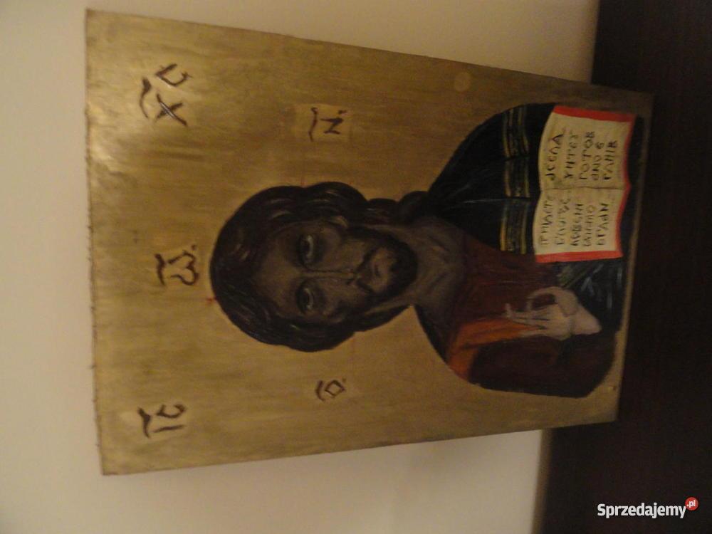 Ikona Obraz Jezus Chrystus Matka Boska Archanioł Wejherowo