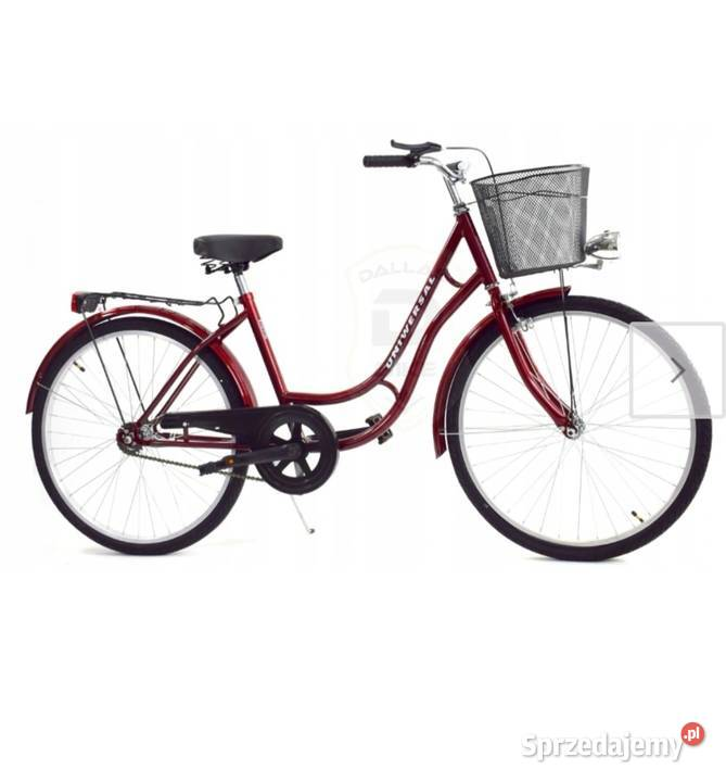 Rower miejski Uniwersal - używany