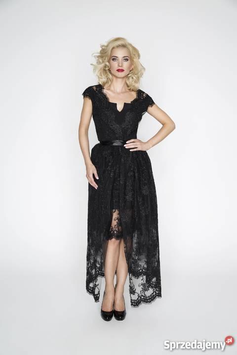 Sukienka Naddy z odpinanym trenem