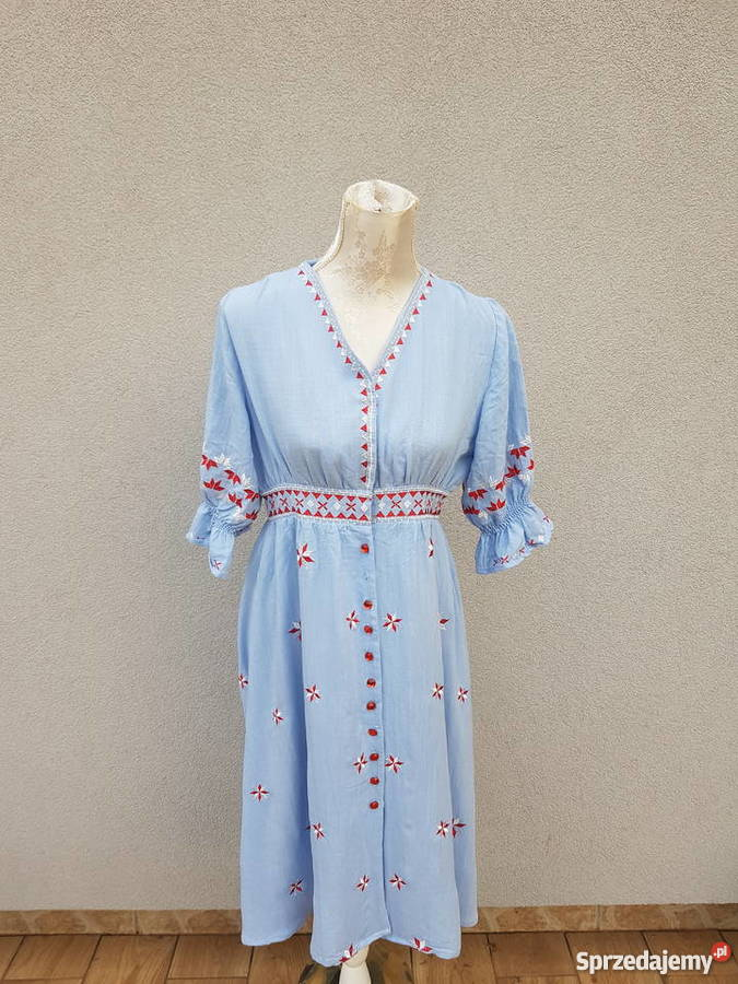 3d2d0a0a Sukienka w stylu boho, etno