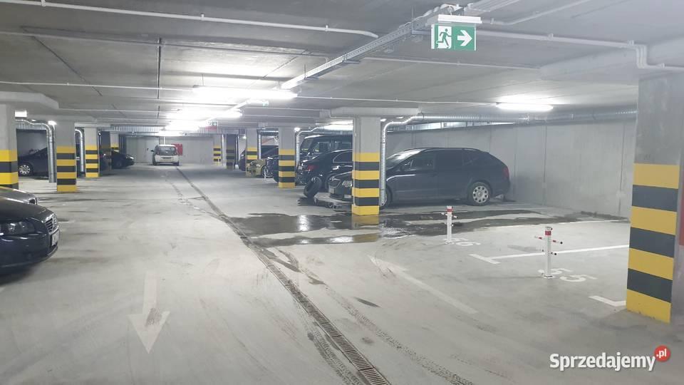 Miejsce parkingowe w garażu podziemnym Łódź Widzew Sobolowa