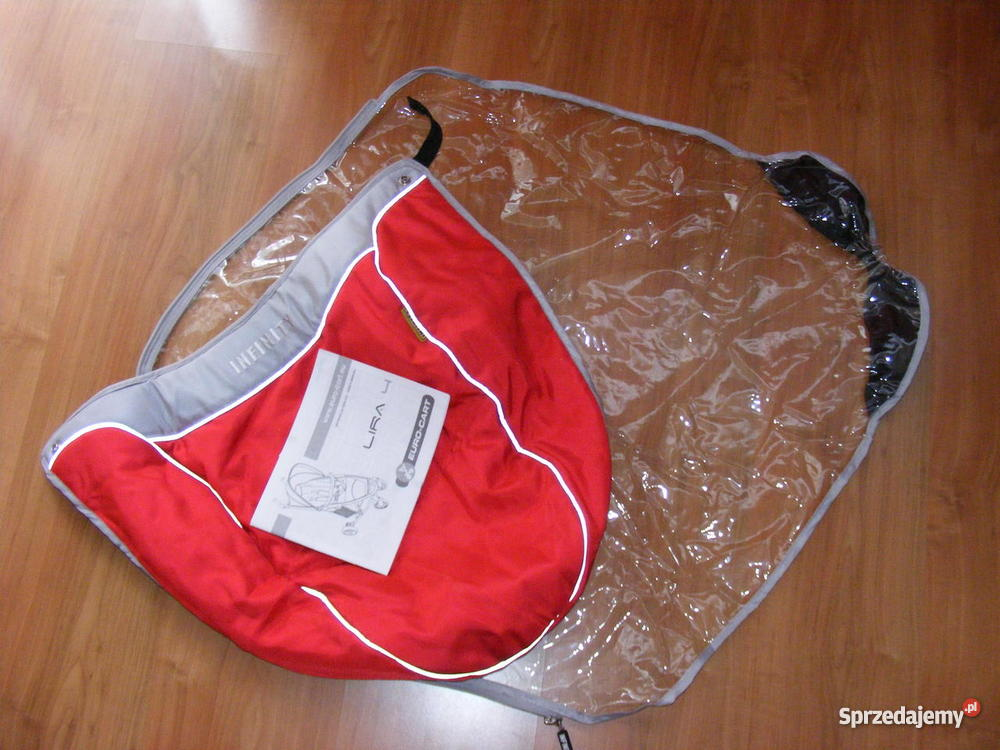 Wózek Spacerowy EuroCart Lira 4 RED Dla Dziecka sprzedam