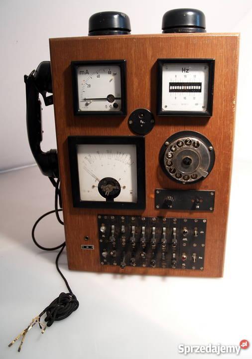 Przedwojenna centralka telefo. Kleiner Prufschr 50