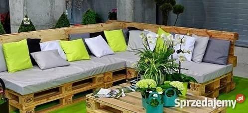 Poduszka poduszki materace na meble z palet Pecna sprzedam